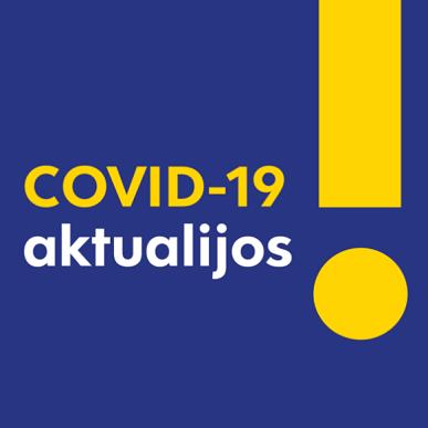 Joniškio rajono savivaldybės administracijos parama nukentėjusiems nuo COVID-19 ligos