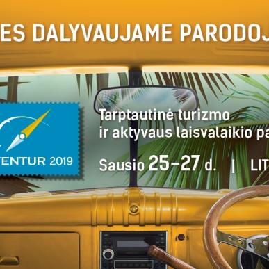 Med dalyvaujame parodoje Adventur 2019 !
