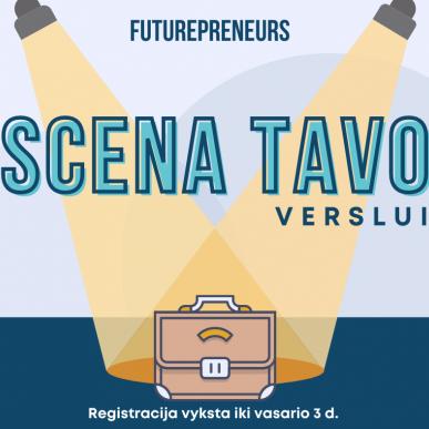 """Kvietimas dalyvauti """"Futurepreneurs"""" verslumo programoje"""