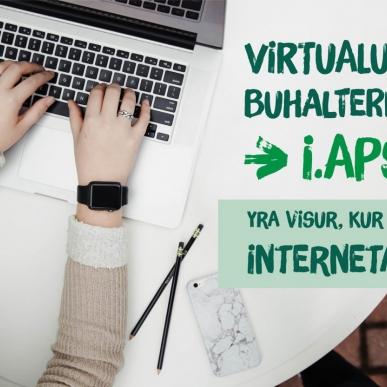 Virtualaus buhalterio i.APS naujovės savarankiškai dirbantiems asmenims