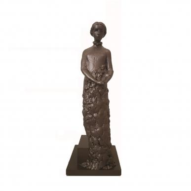 Skulptūros Barborai Žagarietei pastatymas – visų mūsų rankose