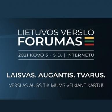 Kovo pradžioje verslo atstovus susiburti kvies Lietuvos verslo forumas